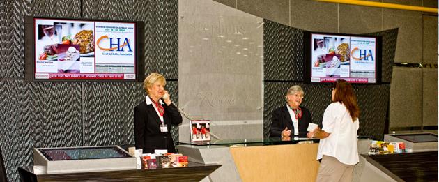 Donald E Stephens Convention Center Advertisement Network