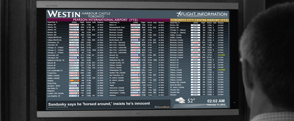 Real Time Flight Information Data Feeds