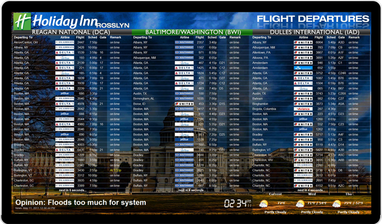Flight_Board_Holiday_Inn